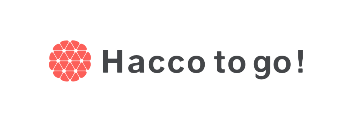 Hacco to go! ロゴ