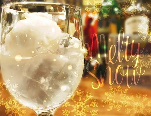 酒粕がもう一度日本酒に出会う幻のカクテル「melty snow」